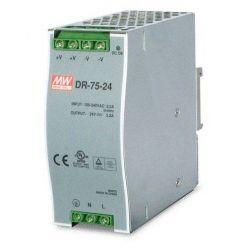 PWR-75-24 napájecí zdroj DIN, 24V, 75W