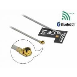 Delock WLAN 802.11 b/g/n Anténa MHF® I samec 2 dBi 1.13 10 cm FPC interní samolepící