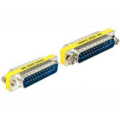 Delock adaptér Sub-D 25 pin samec > samec