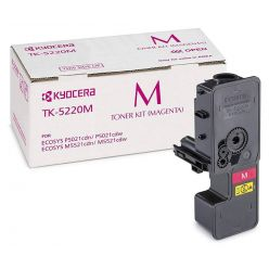 Kyocera toner TK-5220M/ 1 200 A4/ magenta/ pro M5521cdn/ cdw, P5021cdn/cdw