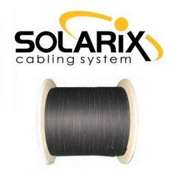 Solarix optický kabel DROP1000  4 vl. 9/125 SM LSZH universal, 500m, černý