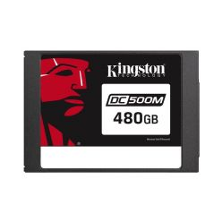 "Kingston DC500M - 480GB 2.5"" SSD, TLC, SATA III, 555R/520W"