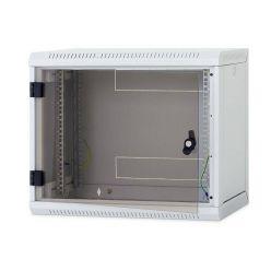 Triton nástěnný rack RUA 12U/600mm, odnímatelné bočnice + skl. dveře