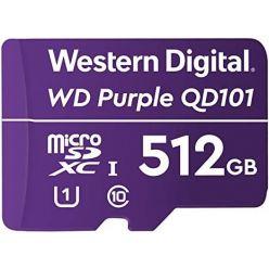 WD Purple 512GB microSDXC karta, UHS-I U1, 100R/60W