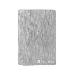 """Verbatim Store´n´ Go ALU Slim 1TB, externí 2.5"""" HDD, USB 3.0, stříbrný"""