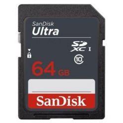 SanDisk Ultra 64GB SDXC karta, UHS-I U1