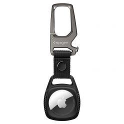 Spigen Rugged Armor klíčenka pro Apple AirTag, černá