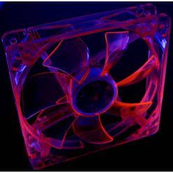 PRIMECOOLER PC-UV12025L12R UV FAN RED