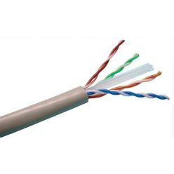 Roline UTP kabel, kat. 6, LSOH+FRNC, 1m, drát