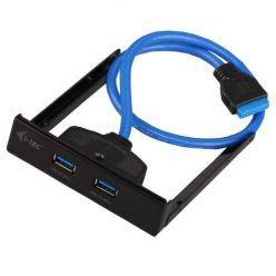 """i-Tec USB3.0 interní Front Panel do 3.5"""" šachty, 2 porty"""