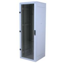 """Triton 19"""" rozvaděč stojanový 18U/600x900, skleněné dveře"""
