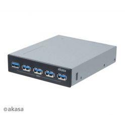 AKASA InterConnect Pro 5S, interní 5-portový USB 3.0 hub
