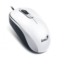 Genius DX-110, optická myš, 1000dpi, USB, bílá
