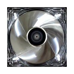 AEROCOOL Silver Lighting LED Fan 80x25mm, 1500rpm, 17dBA, 3-pin