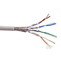Kabel S/FTP (PiMF) kulatý, kat. 6, 1m, lanko
