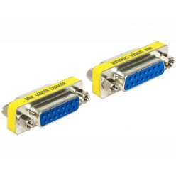 Delock adaptér Sub-D 15 pin samice > samice