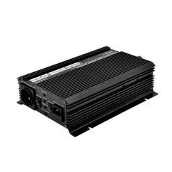 CARSPA • UPS1000-12 • Měnič napětí 12V/230V 1000W s nabíječkou 12V/10A a funkcí UPS