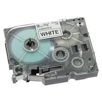 Brother TZ-221, bílá / černá - 1 ks (9mm, laminovaná)