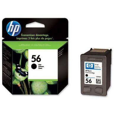 HP 56, černá inkoustová cartridge, 19ml, C6656AE