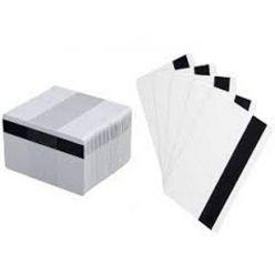 Karta Zebra PVC karty, s magnetickým proužkem (LoCo), balení 500ks karet na potisk, bílá barva