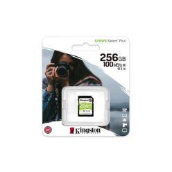 Kingston Canvas Select Plus 256GB SDXC karta, UHS-I U3, 100R/85W