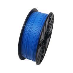 GEMBIRD 3D ABS plastové vlákno pro tiskárny, průměr 1,75mm, 1kg, fluorescentní, modrá