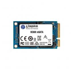 Kingston KC600 256GB SSD, mSATA, 550R/500W