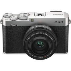 Fujifilm X-E4 + XF27MM - Silver