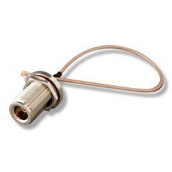 WIFI propojovací kabel (pigtail) U.FL - N-female pro miniPCI