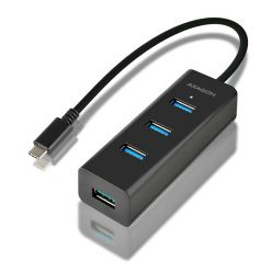 AXAGON HUE-S2C, USB-C USB 3.0 hub