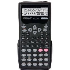 REBELL SC2040 BX, kalkulačka, 240 funkcí, 12-mistný displej
