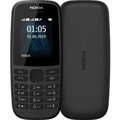 Nokia 105 Dual Sim 2019 Black