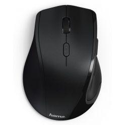 Hama Riano, bezdrátová optická myš, 1600dpi, 6 tlačítek, USB, pro levou ruku