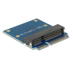 Delock Adaptér Mini PCI Express / mSATA samec > šetřič portu