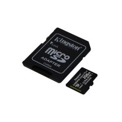 Kingston Canvas Select Plus 256GB microSDXC karta, UHS-I U3, A1, 100R/85W + adaptér
