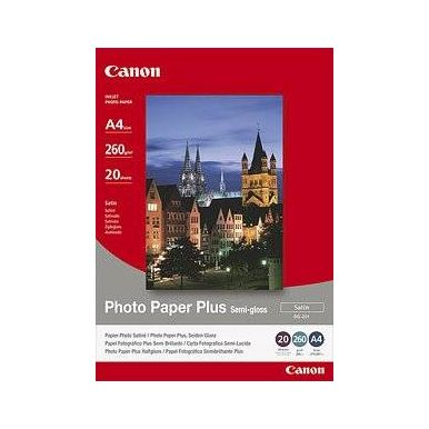 Canon SG-201Plus Fotopapír Pololesklý A3/20ks