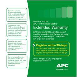 APC 3 roky prodloužené záruky pro současný prodej s UPS