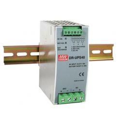 MEANWELL • DR-UPS40 • Průmyslový napájecí zdroj 24V 2A na DIN lištu se zálohovací funkcí