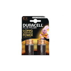 Duracell MN1400B2 Plus Power alkalické baterie, typ C,  2ks