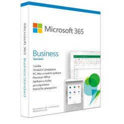 Microsoft 365 Business Standard CZ- předplatné na 1 rok (elektronicky)