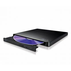 LG GP57EB40, externí slim DVD±RW mechanika, 8x, USB 2.0, černá