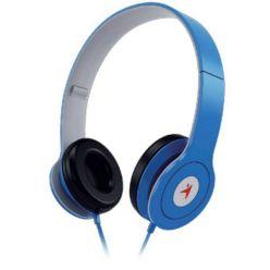 Genius HS-M450, sluchátka s mikrofonem, 1x 3.5mm jack, modrá