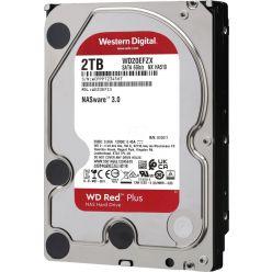 """WD Red Plus 2TB, 3.5"""" HDD pro NAS, 5400rpm, 128MB, CMR, SATA III"""