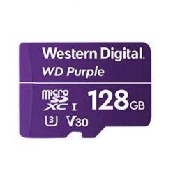 WD Purple 128GB microSDXC karta, UHS-I U3 V30, 100R/60W