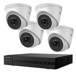 Kamerový set Hikvision HiWatch HWK-N4142TH-MH NVR, 4 x IP kamery, 1TB HDD
