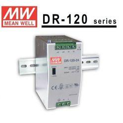Zdroj Mean-well DR-120-12 stabilizovaný na DIN lištu (CCTV) 120W / 12V