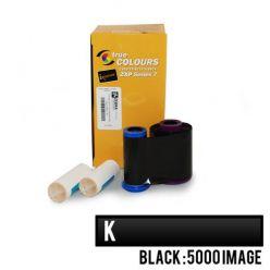 Páska Zebra ZXP7, monochromatická barvící páska pro potisk plastových karet, 5000 stran, černá