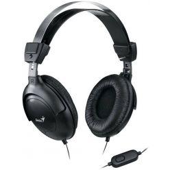 Genius HS-M505X, sluchátka s mikrofonem, černá, 1x 3.5mm jack