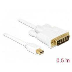 Delock kabel mini Displayport 1.1 samec -> DVI-D samec, 0.5m