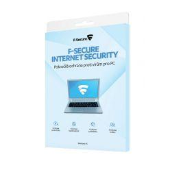 F-Secure Internet Security na 1 rok pro 1 uživ., CZ - elektronicky